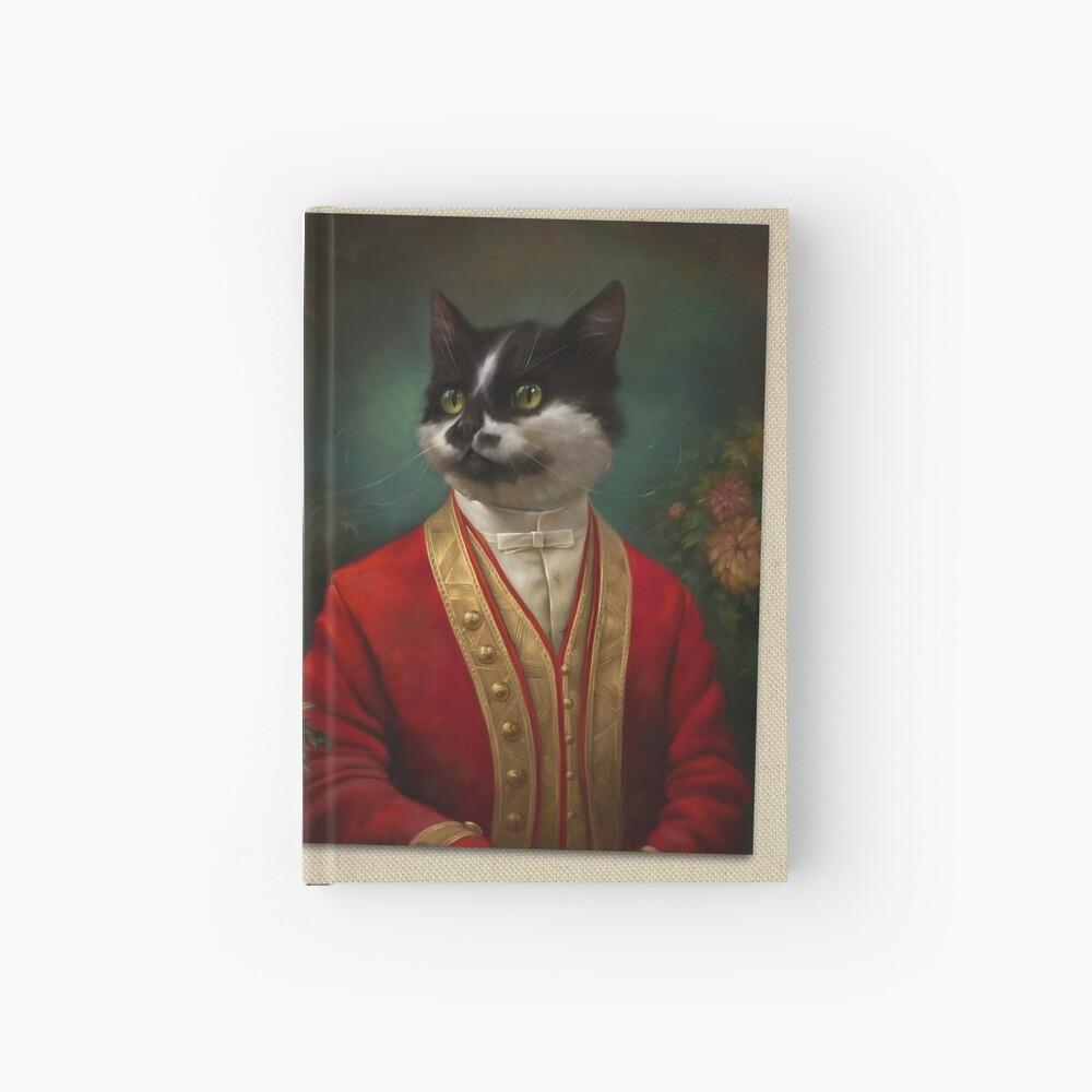 Die Hermitage Gericht Kellner Cat Notizbuch