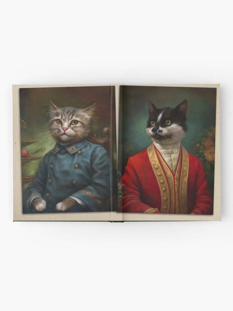 Alternative Ansicht von Die Hermitage Gericht Kellner Cat Notizbuch
