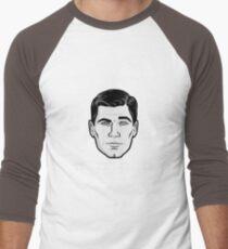 An Archer Christmas Men's Baseball ¾ T-Shirt