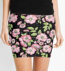Dog Roses Mini Skirt
