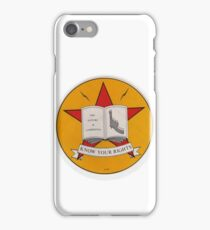 The Clash-Know Your Rights iPhone Case/Skin