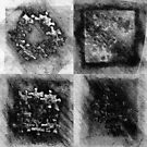 Jigsaw Frottage Study 5. by Andrew Nawroski