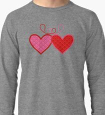 Cross-linked Hearts Lightweight Sweatshirt