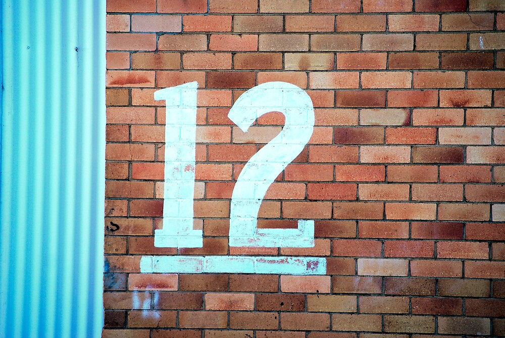 Number 12 by Keith Smith