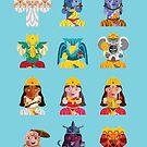 Indian Box Dolls by artkarthik