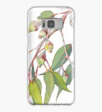 Australian native eucalyptus tree branch Samsung Galaxy Case/Skin