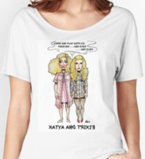 Katya and Trixie - The SHiNiNG Women's Relaxed Fit T-Shirt