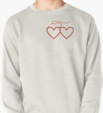 Stitched Hearts Pullover