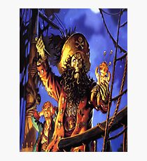 Curse of monkey island Photographic Print