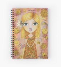 Kindness Begins with Me Girl Spiral Notebook
