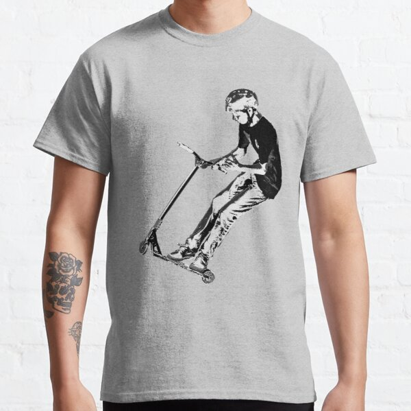 Mid-Air Turn - Stunt Scooter Move Classic T-Shirt