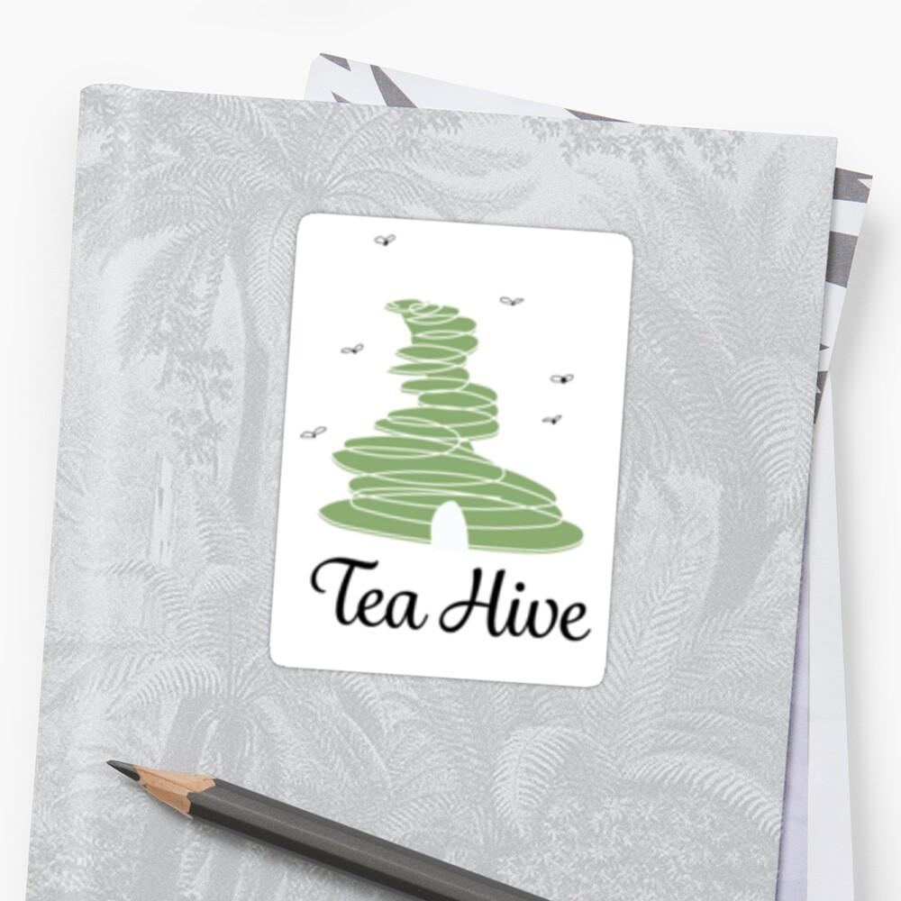 Green Tea Hive by MegRush