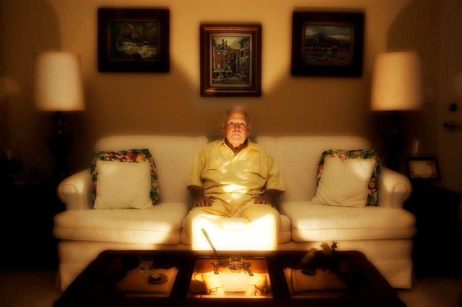 Dado Leads A Psychic Masonic Ritual From His Couch by dbatterman