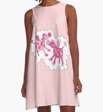 Cows in Romance A-Line Dress
