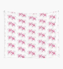 Cows in Romance Wall Tapestry
