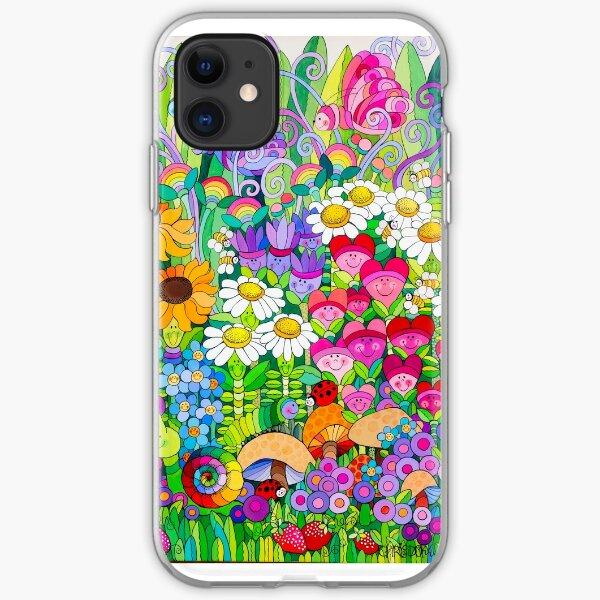 Ladybug Garden iPhone Soft Case