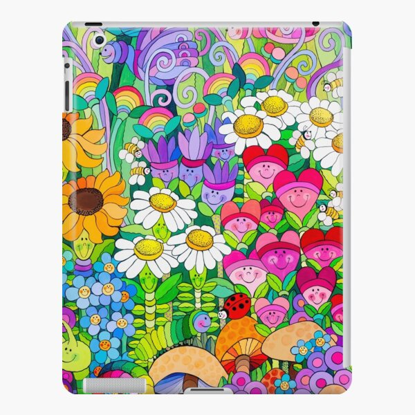 Ladybug Garden iPad Snap Case
