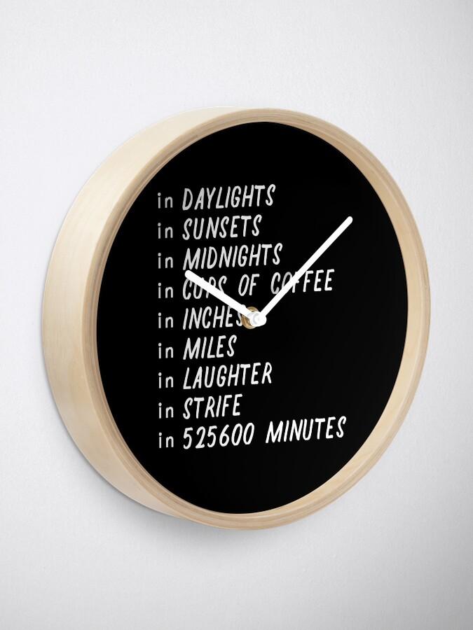 Alternate view of Seasons of love Clock