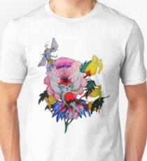 Flower Fly Unisex T-Shirt