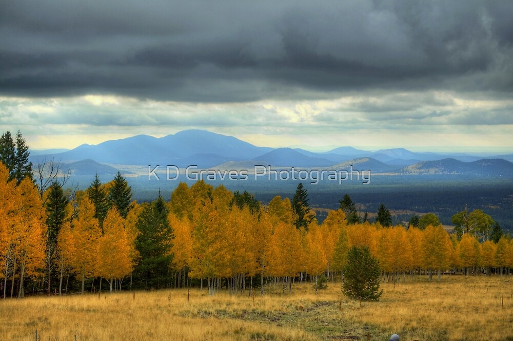 The Hills Painted With Light by K D Graves Photography
