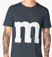 Halloween Candy M&M Last Minute Costume T-Shirt Men's Premium T-Shirt