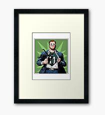 Clark Wentz Framed Print