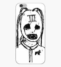 Slipknot Inspired Mask Drawing (Corey Taylor) iPhone Case