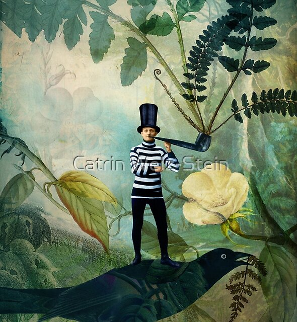 The man under the fern tree by Catrin Welz-Stein