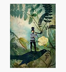The man under the fern tree Photographic Print
