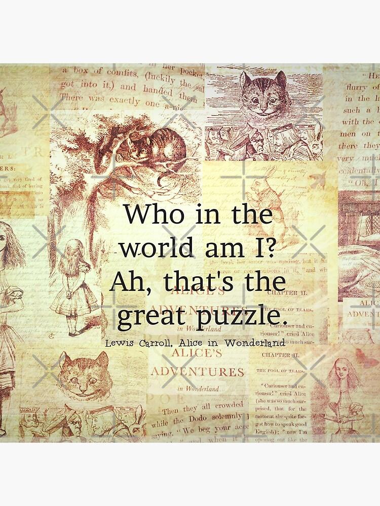 Alice in Wonderland Quote by goldenslipper