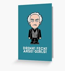 Father Jack Greeting Card
