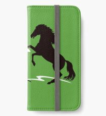Two horses iPhone Wallet/Case/Skin