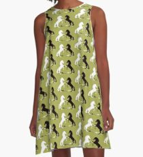 Two horses A-Line Dress