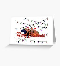 Merry Christmas Riverdale Greeting Card