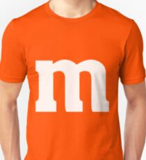 Halloween Candy M&M Last Minute Costume T-Shirt Slim Fit T-Shirt