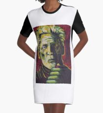 The Pipe Graphic T-Shirt Dress