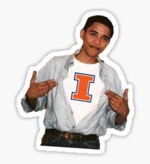 Obama Illinois Sticker