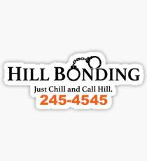 Hill Bonding  Sticker