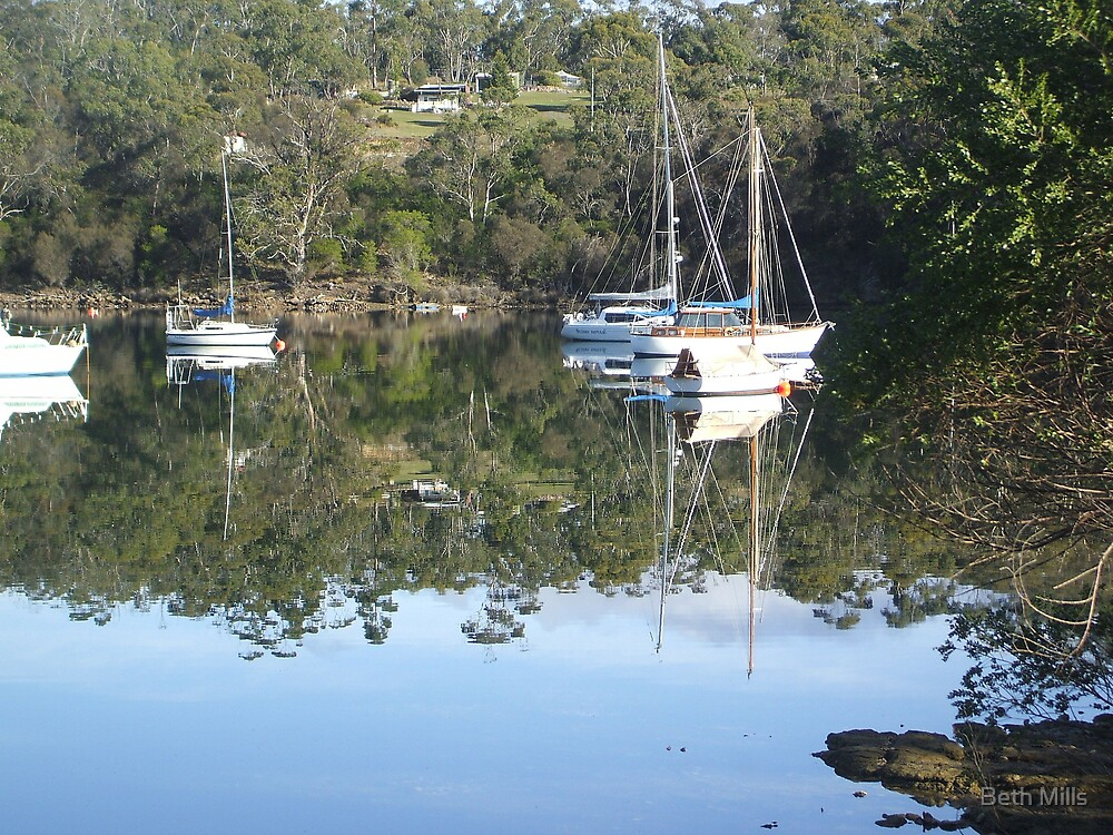 Barnes Bay, Bruny Island, Tasmania by Beth Mills