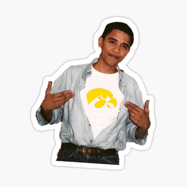 Obama Iowa Sticker