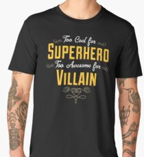 antihero definition Men's Premium T-Shirt