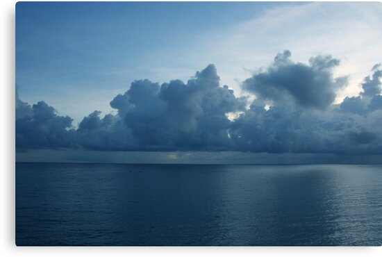 Blue Reflections by Jarede Schmetterer
