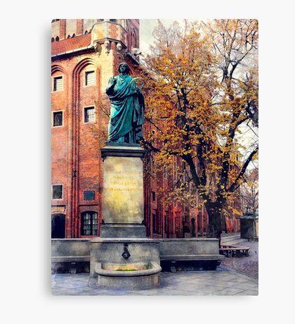Torun city art 6 #torun #city Canvas Print