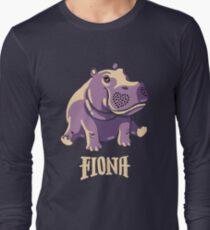 Fiona das Flusspferd-Hemd #TeamFiona Merch, nettes Baby-Flusspferd Langarmshirt