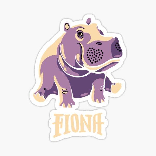 Cute Hippo Stickers Redbubble