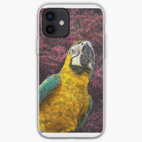 Macaw's delight iPhone Soft Case
