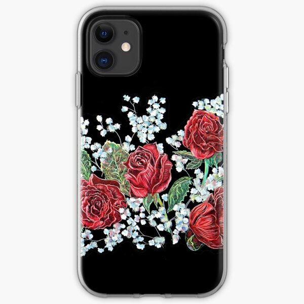 Spanish Roses iPhone Soft Case