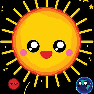 Kawaii Sunball wants to become a red giant by Skady666