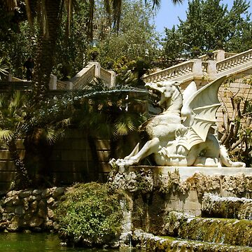 Gaudi: Fountain by sketchie