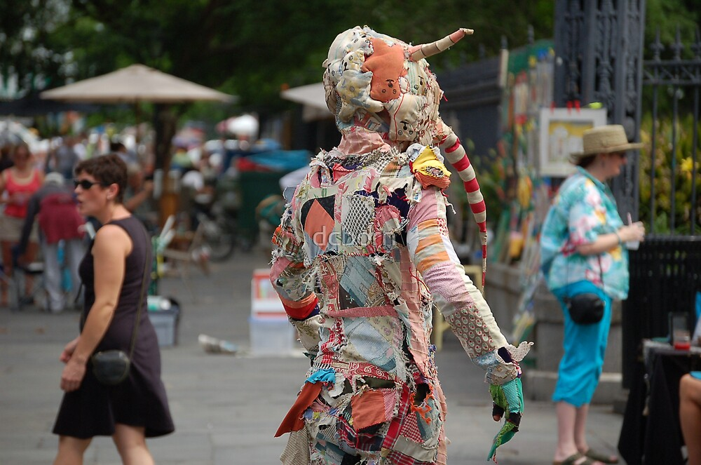 Jackson Sq. the cloth man by dcborn